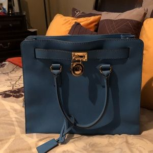 Michael kors Hamilton large saffiano leather bag